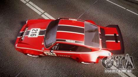 Porsche 911 Carrera RSR 3.0 1974 PJ216 para GTA 4 vista direita