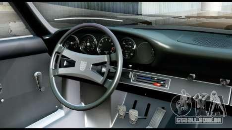 Porsche 911 Carrera 2.7RS Coupe 1973 Tunable para GTA San Andreas vista traseira
