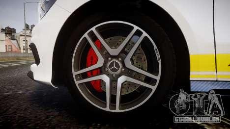 Mersedes-Benz A45 AMG PJs2 para GTA 4 vista de volta