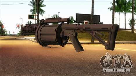 Rocket Launcher from GTA 5 para GTA San Andreas segunda tela