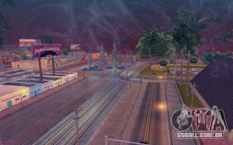 ENB by Dvi v 1.0 para GTA San Andreas por diante tela