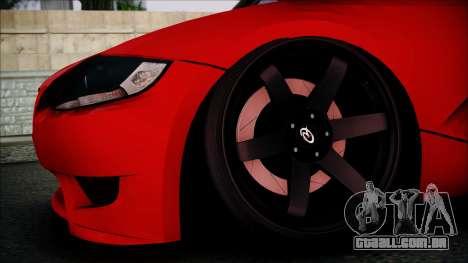 BMW Z4 M85 para GTA San Andreas vista direita