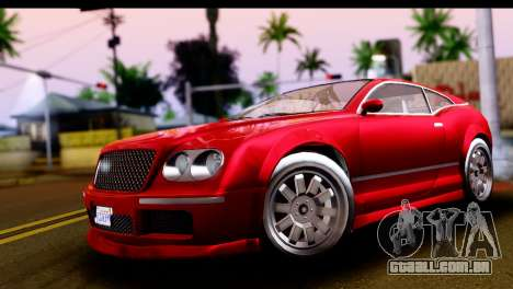 GTA 5 Enus Cognoscenti Cabrio IVF para GTA San Andreas vista direita