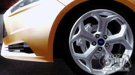 Ford Focus ST 2013 para GTA San Andreas vista traseira