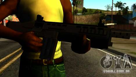 Bullpup Shotgun from GTA 5 para GTA San Andreas terceira tela