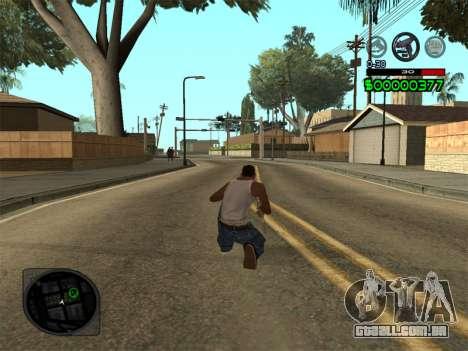C-HUD by Radion para GTA San Andreas terceira tela