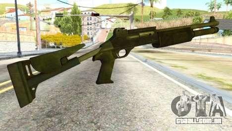 Shotgun from Global Ops: Commando Libya para GTA San Andreas segunda tela