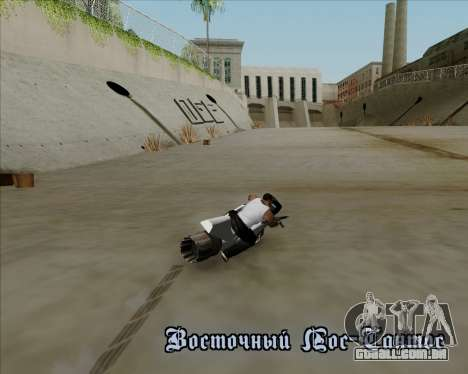 Air bike para vista lateral GTA San Andreas