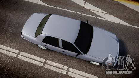 Ford Crown Victoria Unmarked Police [ELS] para GTA 4 vista direita