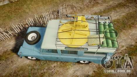 Land Rover Series II 1960 v2.0 para GTA 4 vista direita
