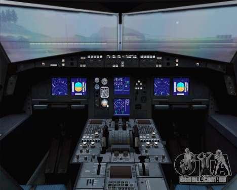 Airbus A330-300 Aeroflot - Russian Airlines para GTA San Andreas vista traseira