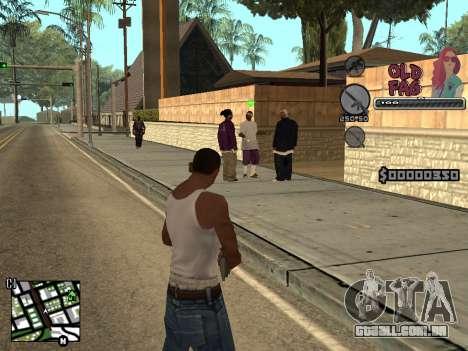 C-HUD Universal v2 para GTA San Andreas terceira tela