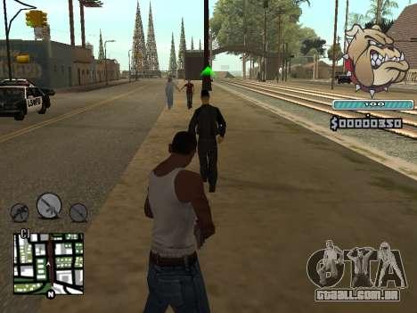 C-HUD Universal para GTA San Andreas segunda tela