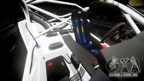BMW Z4 GT3 2012 Northwest para GTA 4 vista inferior