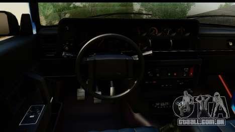 Volvo 242 Cabrio para GTA San Andreas vista traseira