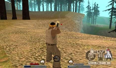C-HUD Yeah para GTA San Andreas segunda tela