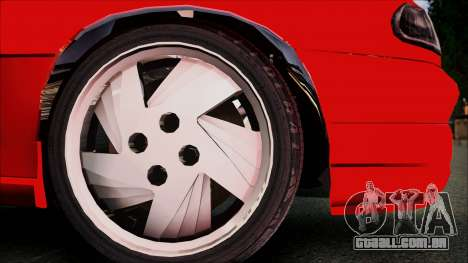 Opel Astra GSI BG para GTA San Andreas vista direita