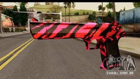 Red Tiger Desert Eagle para GTA San Andreas