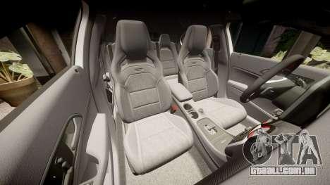 Mersedes-Benz A45 AMG PJs3 para GTA 4 vista superior