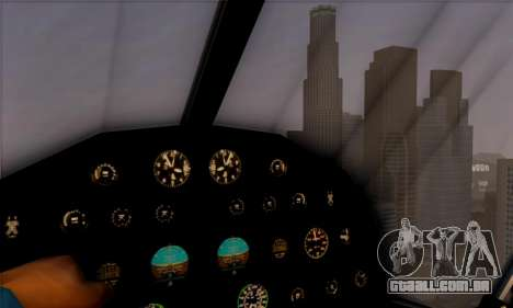 Swift GTA 5 para GTA San Andreas vista traseira