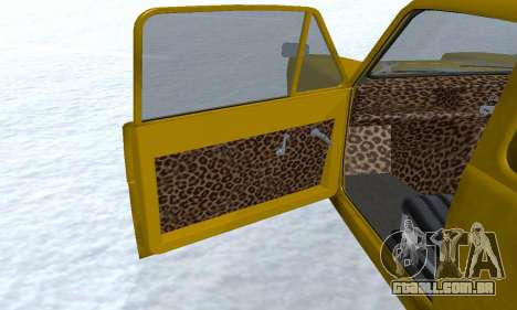 Reliant Supervan Only Fools and Horses para as rodas de GTA San Andreas