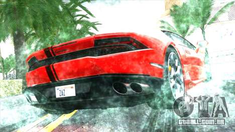 ENB Real for very low PC para GTA San Andreas sexta tela
