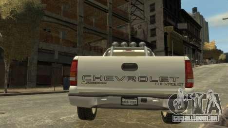Chevrolet Silverado 1500 para GTA 4 vista direita