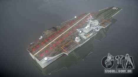 USS Flysenhower para GTA 4 terceira tela