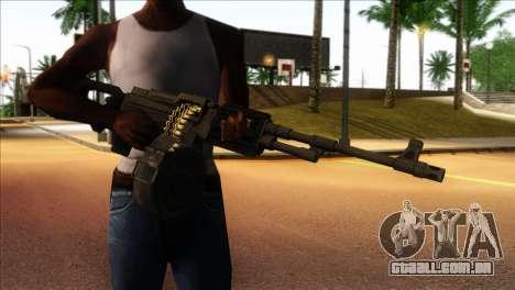 RPK from Kuma War para GTA San Andreas terceira tela