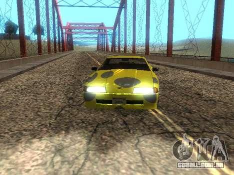 Vinil Elegia para GTA San Andreas esquerda vista