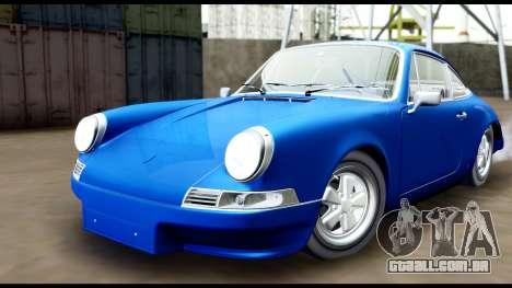 Porsche 911 Carrera 2.7RS Coupe 1973 Tunable para GTA San Andreas vista direita