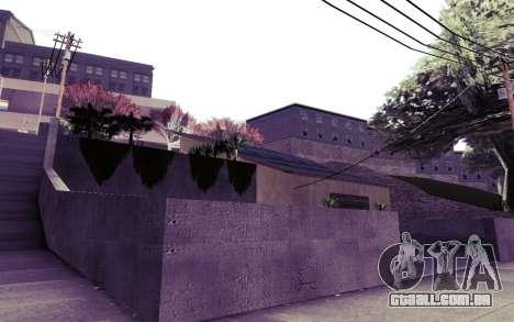 Instagram ENB v1.02 para GTA San Andreas por diante tela