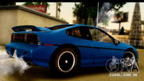 Pontiac Fiero GT G97 1985 IVF para GTA San Andreas vista direita