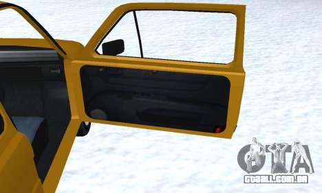 Fiat 126p FL para GTA San Andreas interior