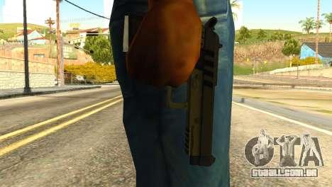 Pistol from GTA 5 para GTA San Andreas terceira tela