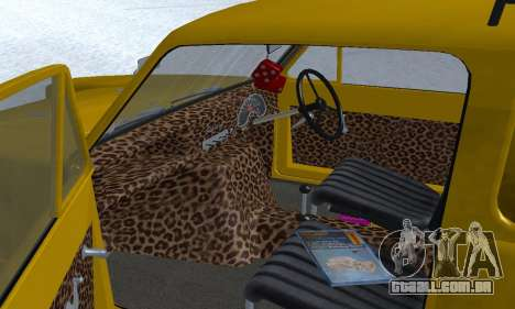 Reliant Supervan Only Fools and Horses para o motor de GTA San Andreas
