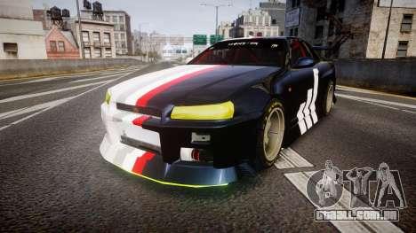 Nissan Skyline R34 GT-R Drift para GTA 4