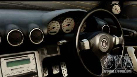 Nissan Silvia S15 Camber Edition para GTA San Andreas traseira esquerda vista