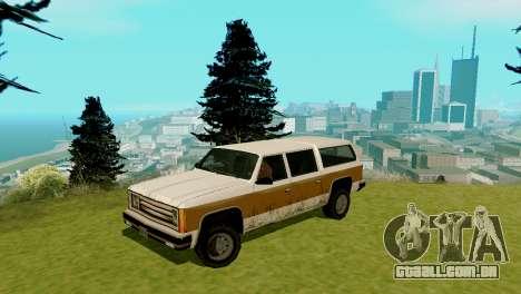 Transporte novo e compra para GTA San Andreas décimo tela