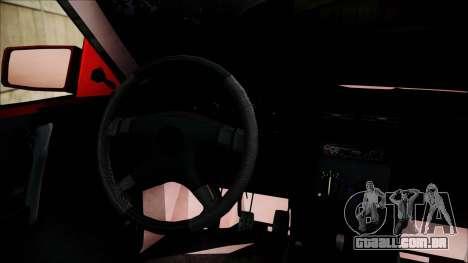 Opel Astra GSI BG para GTA San Andreas traseira esquerda vista