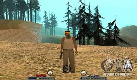 C-HUD Yeah para GTA San Andreas