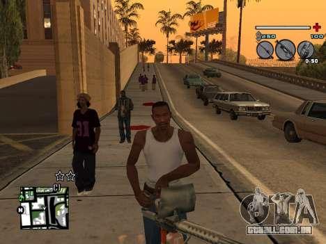 C-HUD Universal v3 para GTA San Andreas quinto tela