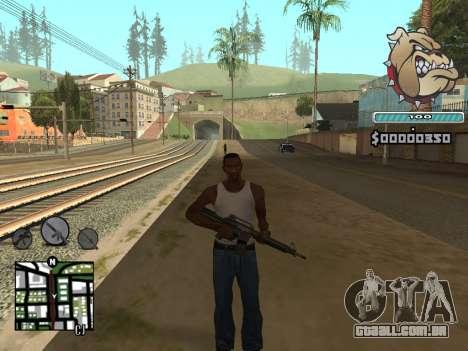 C-HUD Universal para GTA San Andreas terceira tela