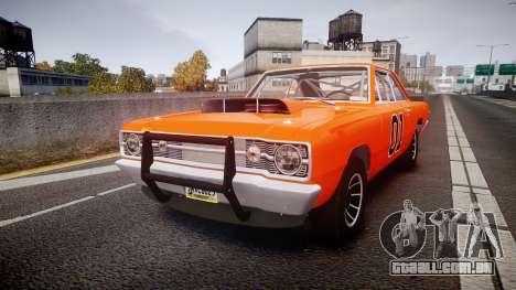 Dodge Dart HEMI Super Stock 1968 rims4 para GTA 4