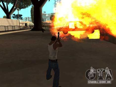 Effects by Lopes 2.2 New para GTA San Andreas por diante tela