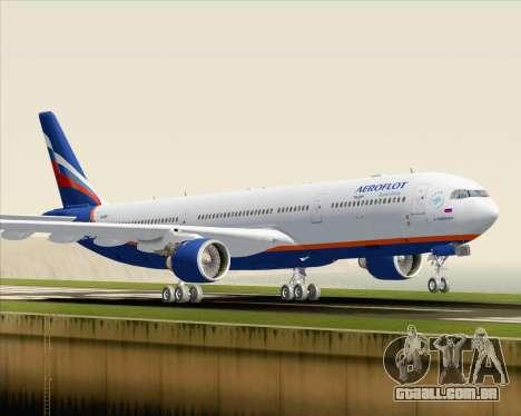 Airbus A330-300 Aeroflot - Russian Airlines para GTA San Andreas esquerda vista