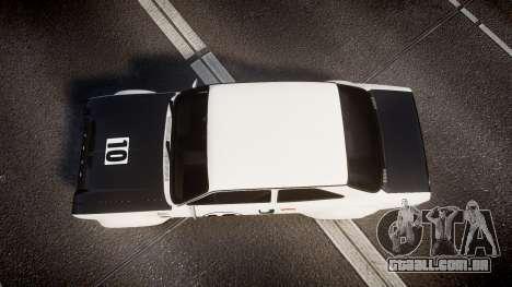 Ford Escort RS1600 PJ10 para GTA 4 vista direita