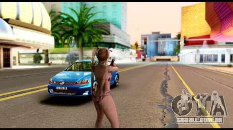 Dead Or Alive 5U - Marie Rose Bikini para GTA San Andreas