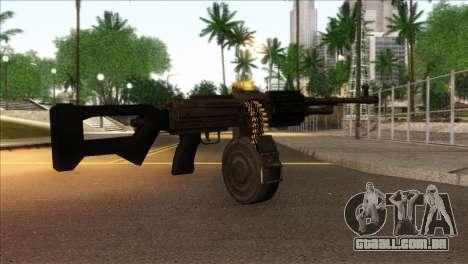 RPK from Kuma War para GTA San Andreas segunda tela