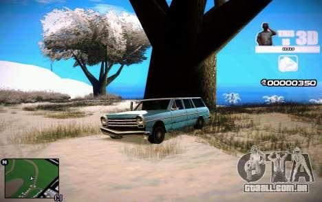 HUD 3D para GTA San Andreas segunda tela